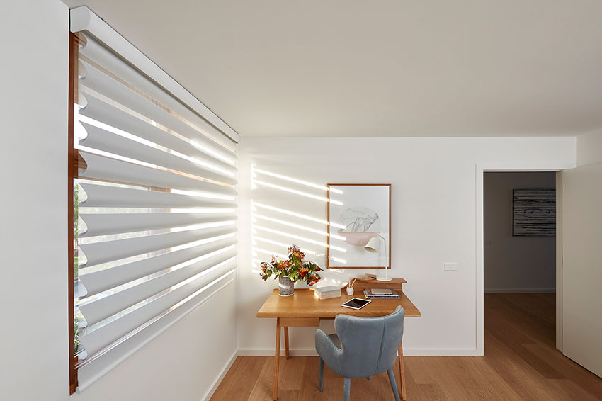 LUXAFLEX Pirouette Shadings